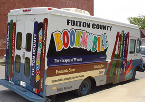 Fulton County Library Bookmobile.