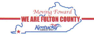 Fulton County logo - Moving Forward, We are Fulton County
